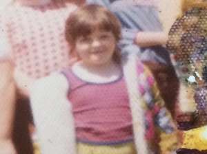 For your amusement: me as a little chunk muffin. Probably age 5.