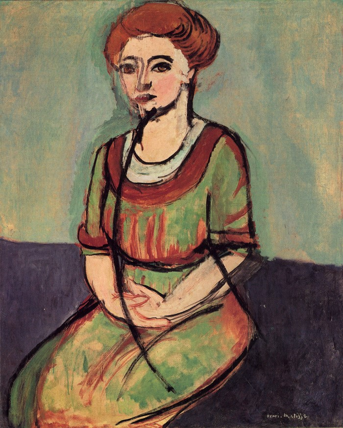 This image has an empty alt attribute; its file name is olga-meerson-by-henri-matisse.jpg
